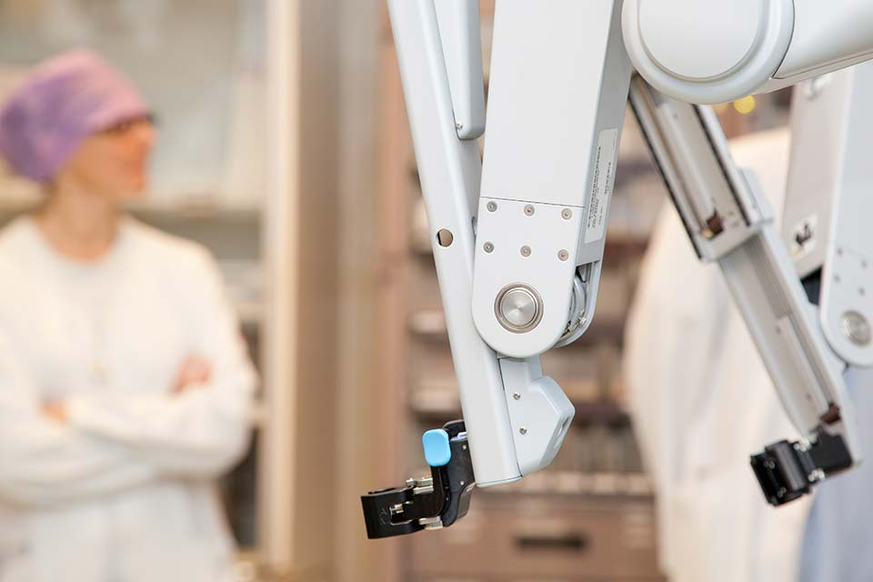 Robottikirurgia